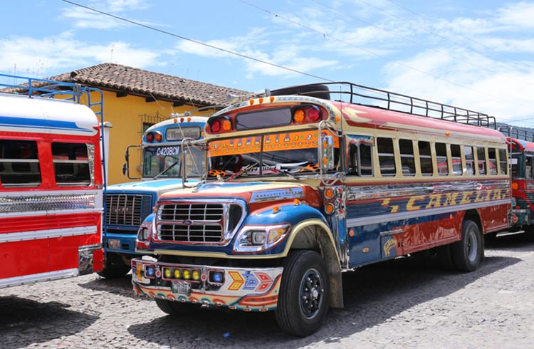 How To Get Around Guatemala Transport Amp Chicken Buses