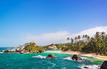 Tayrona Beach, Colombia