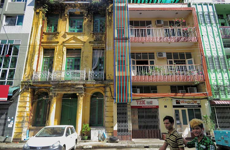 Modern myanmar how tourism is changing yangon for Modern house yangon