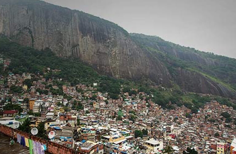 Picture of Brazilian residential favela