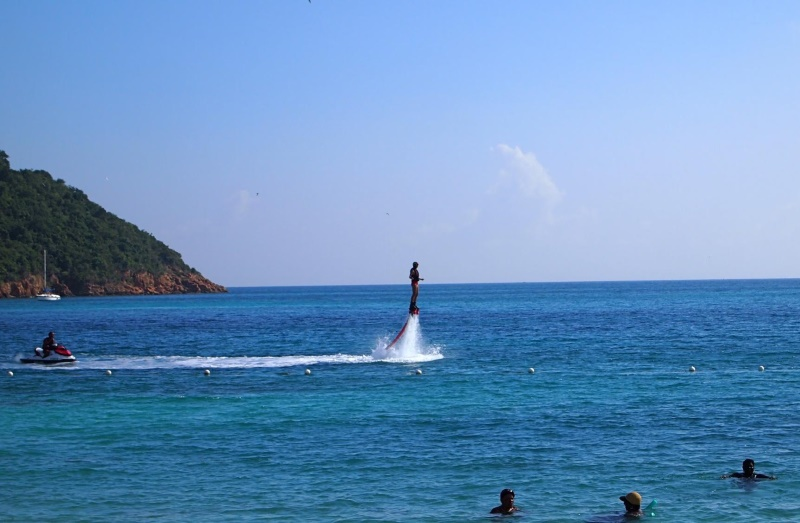 Flyboarding. (Yes, I tried it – it was awesome!)