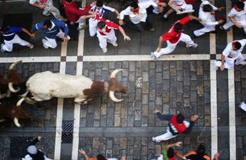 Am I covered for Running with the Bulls?