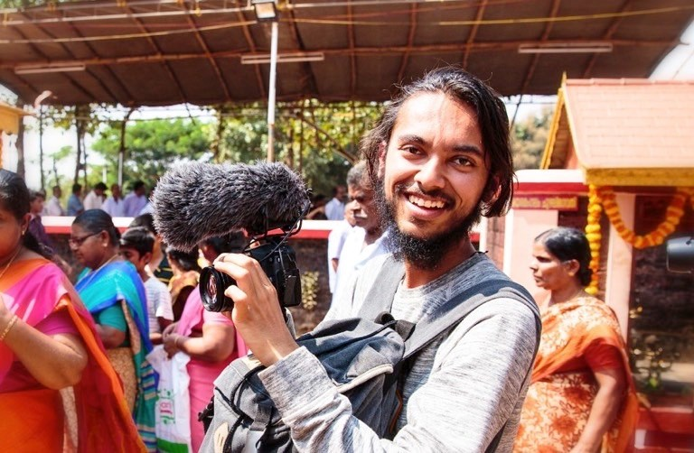 Jigar on assignment in India