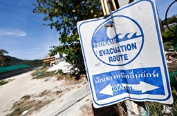 What should you do if you're told a Tsunami is coming?