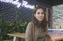 Nainaa on assignment in Australia