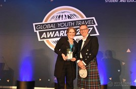 WYSE Travel Confederation award to World Nomads