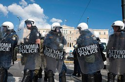 Austerity Riots in Greece → Traveler's Survival Guide