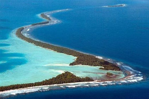 Tuvalu is a crime-free beauty spot in the Pacific