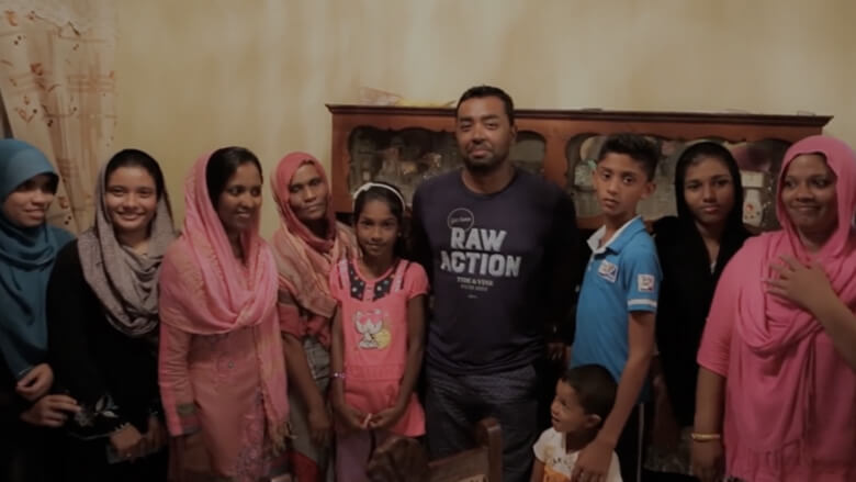 Large Indian family